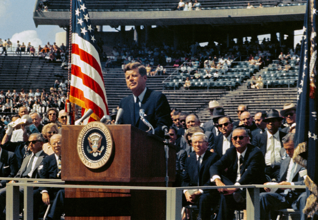 Джон Кеннеди / Фото: NASA