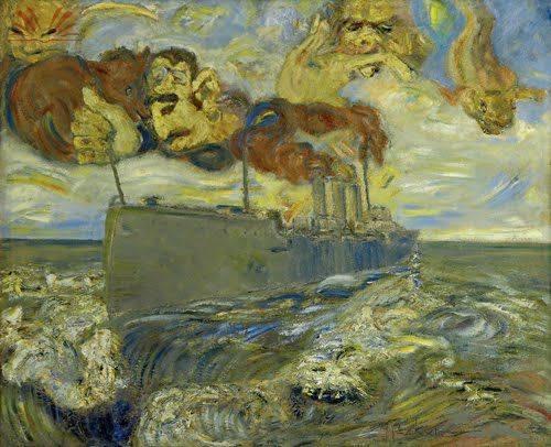 Мігель Бакун. Морський пейзаж. Полотно, олія. Б/д