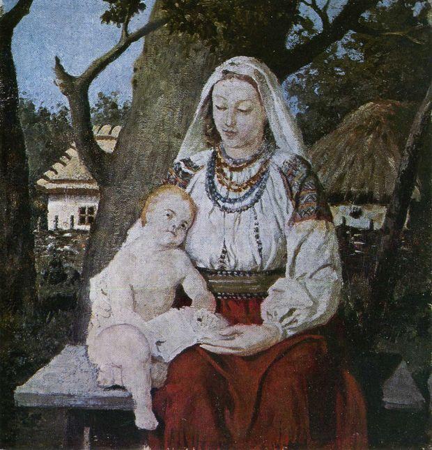 «Сільська Мадонна», 1895 р.