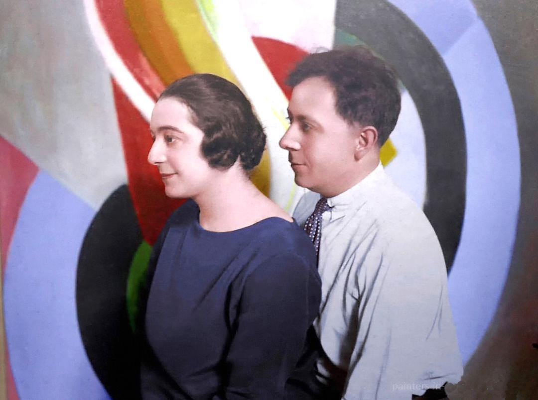 Соня та Робер, 1924 р.