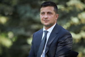 Russia massing troops on border with Ukraine to 'frighten' the West - Zelensky