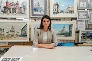 Українська мисткиня Юлія Красовська представила свої роботи на виставці в Болгарії