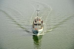 Для ВМС отремонтировали катер, который «охотится» на диверсантов