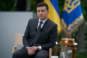 Zelensky: Ukraine does not start a war first, but it always stands to the last