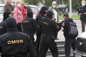 За перші години «Народного страйку» в Білорусі вже близько 80 затриманих