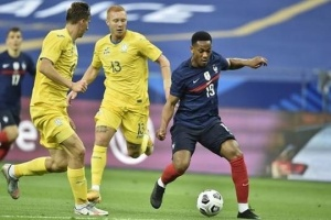 Football : les Bleus s'imposent face à l'Ukraine (7-1)
