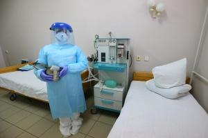 В Солотвинской больнице на Прикарпатье развернули 80 COVID-коек