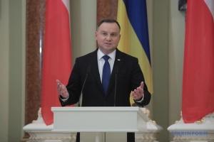 Дуда скликає силовиків для оцінки дій Росії біля українських кордонів
