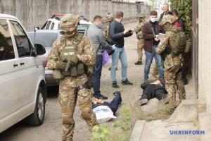 СБУ у Києві ловила «терористів» і звільняла «заручників»