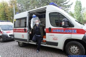 W ciągu ostatniego dnia na Ukrainie COVID-19 potwierdzono u 7053 osób