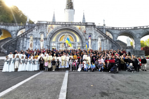 Українці Західної Європи взяли участь у традиційній прощі до Люрду