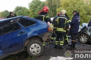 Verkehrsunfall in Region Lwie: Drei Tote bei Zusammenstoß von vier Pkws