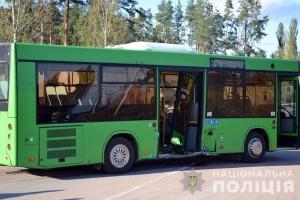 Під Житомиром зіштовхнулися легковик і автобус із пасажирами