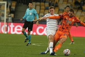El Dynamo pierde 0-2 ante la Juventus en la Champions League