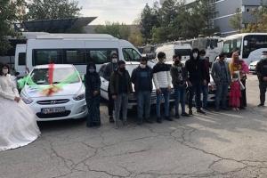 У Туреччині затримали нелегалів, які маскувалися під весільний кортеж