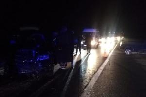 На Львовщине столкнулись Volkswagen и Dodge, погибли супруги