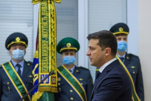 Zelensky calls on border guards to improve quality, reliability of intelligence