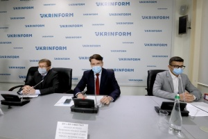 Пресс-конференция кандидата на должность городского головы Запорожья от ПП «Слуга народа» Виталия Тишечко