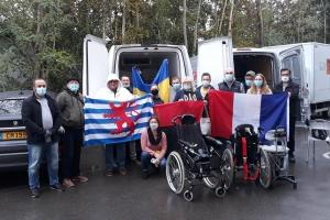 Ukrainische Gemeinde in Luxemburg schickt Hilfsgüter für verwundete Soldaten in Ukraine