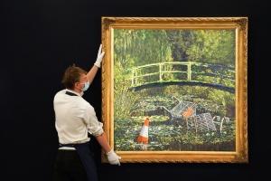 Картину Бенксі продали за рекордні майже $10 мільйонів