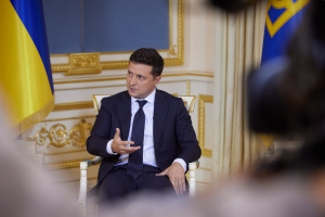 Zelensky invites Lithuanian speaker to take part in celebration of Ukraine's independence