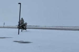 На севере США бушует зимний ураган
