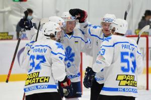 УХЛ: «Сокол» обыграл «Мариуполь» на старте сезона