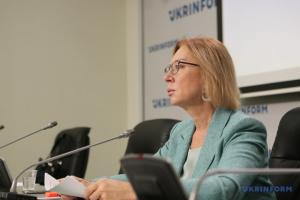 Денісова - про COVID-19 на окупованій Донеччині: Лікарні заповнені майже на 100%