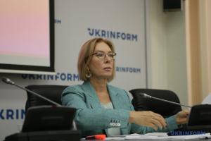 Денисова готова способствовать возвращению с ОРДЛО удерживаемых украинских граждан