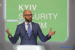 Yatsenyuk: Sustainable peace can be achieved through expansion of EU, NATO borders