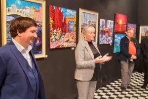 У Таллінні відкрили виставку українських художників Добровольських