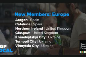 Trois municipalités ukrainiennes rejoignent le Partenariat pour un gouvernement ouvert européen