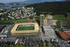 Матч против Украины станет для Швейцарии 19-м, сыгранным в Люцерне