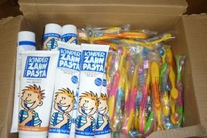 Українці Лейпцига передали допомогу дітям-сиротам на Донбасі