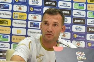 Шевченко оголосив розширений склад збірної України з футболу