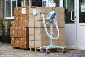 До Харкова доставили закуплені за кошти обласного бюджету 24 апарати ШВЛ