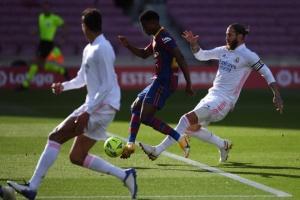 «Барселона» проиграла «Реалу» в матче Ла Лиги