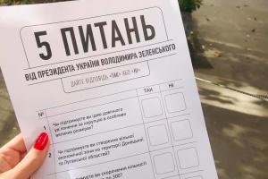 Опрос Зеленского: большинство украинцев поддерживают сокращение ВР до 300 депутатов