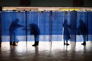 Явка на местных выборах в Киевской и Черниговской областях