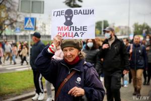Правозахисники встановлюють імена затриманих на акціях в Білорусі