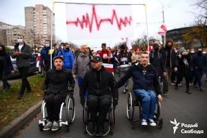 На протесты в Минске вышли уже более 100 тысяч человек - СМИ