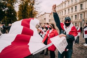 Proteste in Belarus: Mehr als 580 Menschen am Montag festgenommen