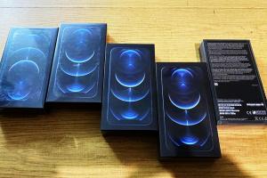 Прикордонники повідомили про конфіскацію першої партії контрабандних iPhone 12