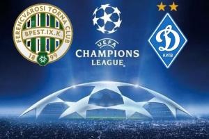 UEFA Champions League: Dynamo Kyiv und Ferencvaros spielen remis