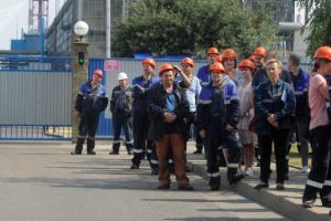 Страйк у Білорусі: працівників «Гродно Азоту» затримують