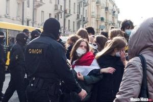 К акциям протеста в Минске присоединились студенты и айтишники