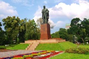 Найбільш відомі пам'ятники Тарасові Шевченку в Україні