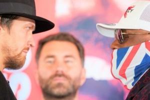 Boxen: Chisora wird gegen Usyk etwas einsetzen, was der früher nicht gesehen hat – Haye