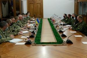 Khomchak se reúne con socios canadienses para discutir la reforma de las Fuerzas Armadas de Ucrania