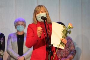 Українську вчительку відзначив бургомістр польського міста Бартошице